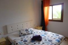 Schlafzimmer 2 mit Doppelbett, Meerblick