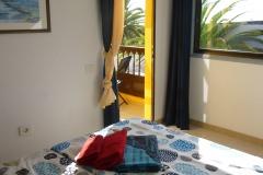 Schlafzimmer 1 mit Terrasse, Meerblick